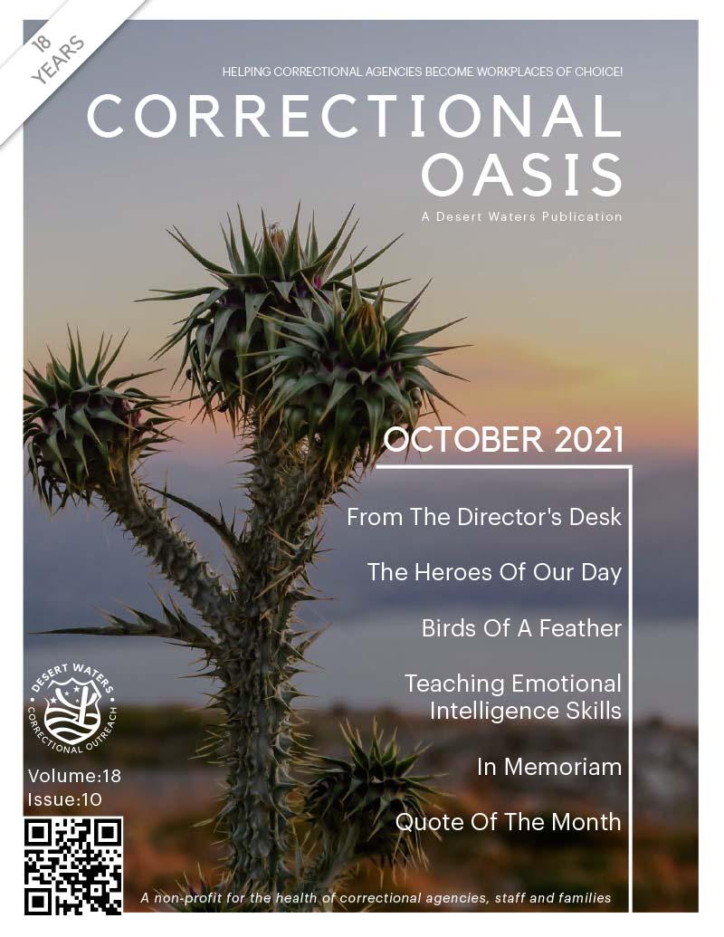 Correctional Oasis 10-2021